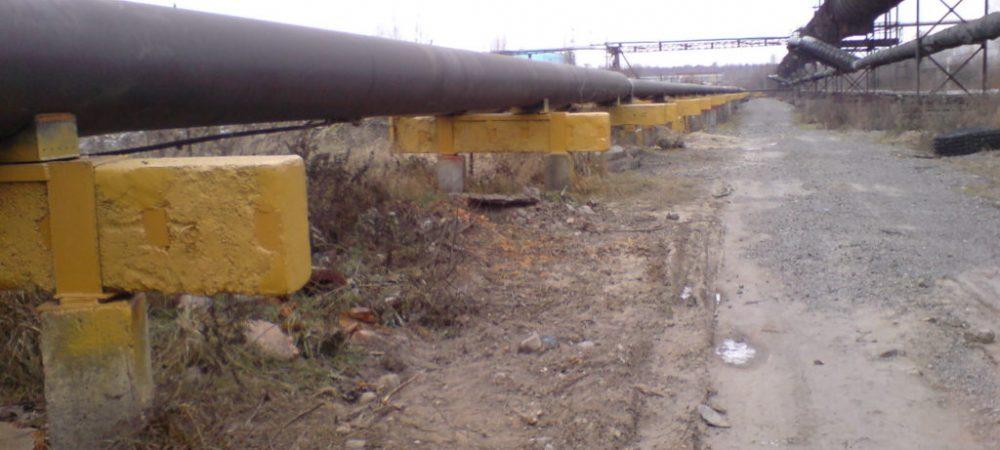 А1 Защита герметиком ТФ-1 ВА(желтый) опор аммиакопровода №2