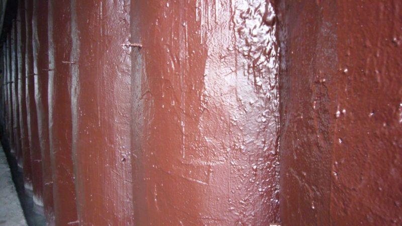 Герметик Новатор ТФ-1 красного цвета